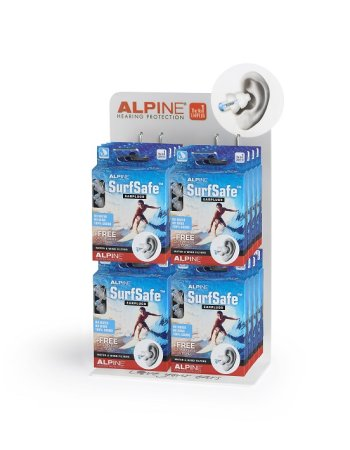 Alpine - SurfSafe Hearing Protection (6`er Box)