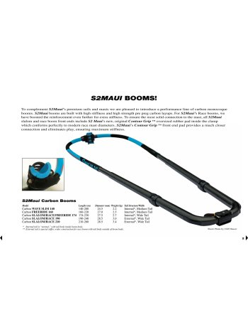 S2Maui - Carbon Boom Slalom / Race Ø28.5mm (190-240)