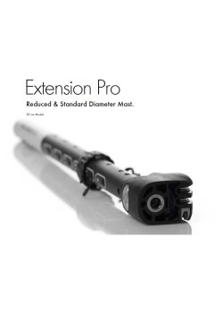 Goya - Extension Pro SDM (Carbon 0-30 Ø 48)
