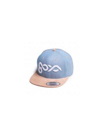 Goya - Cap Blue/Beige Logo