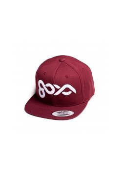 Goya - Cap Maroon Logo