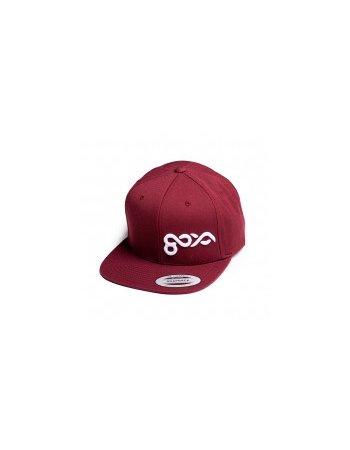 Goya - Cap Maroon sml. Logo