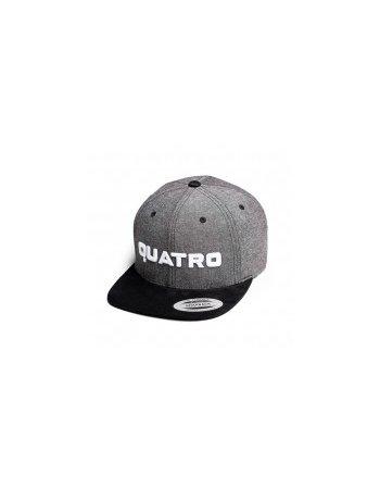 Quatro - Cap Grey/Black Logo