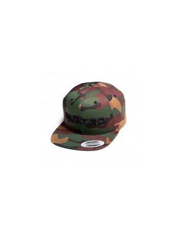 Quatro - Cap Camouflage Logo