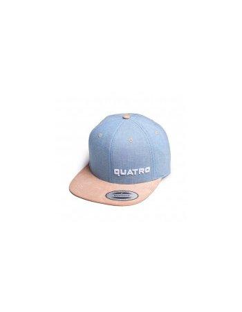 Quatro - Cap Blue/Beige sml. Logo