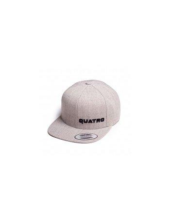 Quatro - Cap Grey sml. Logo