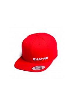 Quatro - Cap Red Sml. Logo