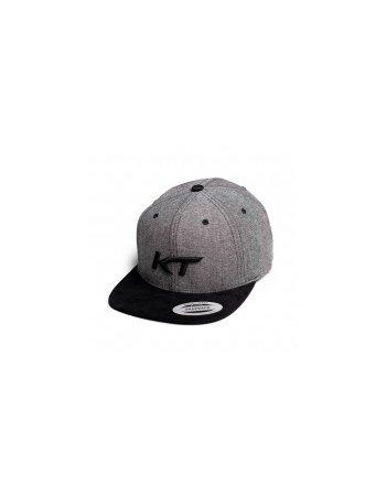 KT - Cap Grey/Black Logo